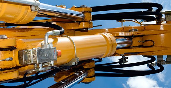 Hydraulic cylinders, hydrostructures
